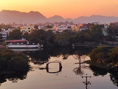 Udaipur evening lake view - Beauty of India Tours