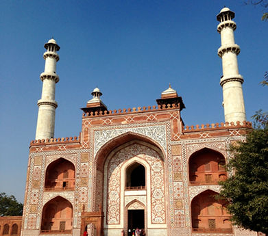 Sikander's Tomb, Agra - Beauty of India Tours