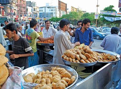 Indian street food sellers