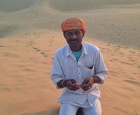 Rajasthani man with mouth harp - Beauty of India Tours