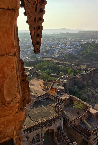 Jodhpur view from the fort - Beauty of India Tours