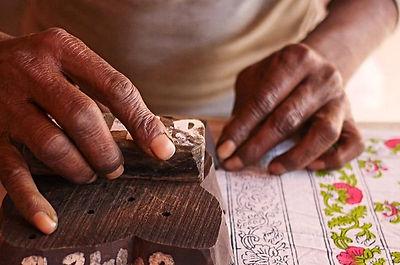 block  printing craftsman in Jaipur