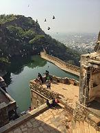 Unesco World Site Heritage Chittorgarh Fort, India