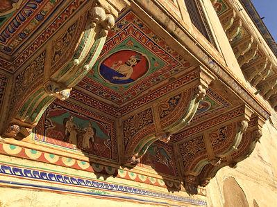 Painted Havelis in Mandawa