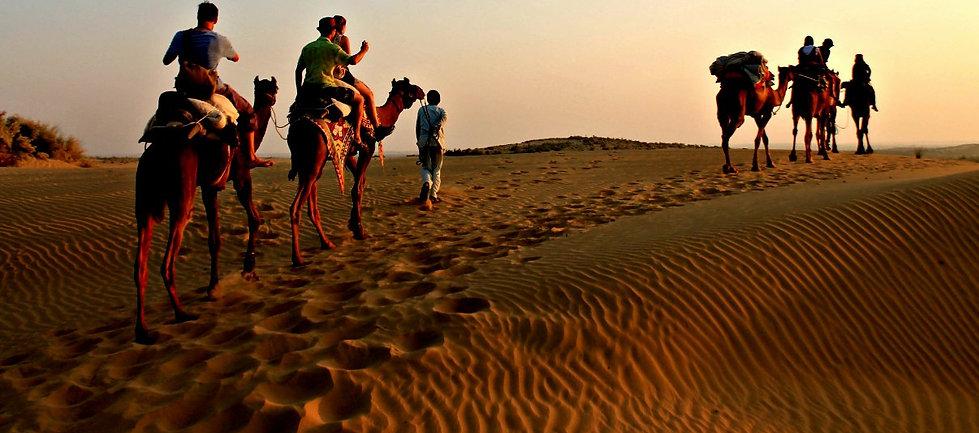 Thar Desert Camel safari - Beauty of India Tours