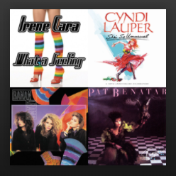 Music Mondays - Ladies of the '80s
