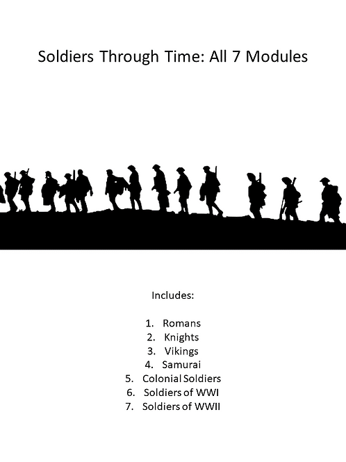 Soldiers Through Time: All Modules
