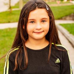 Cheyenne, age 9