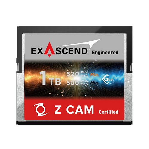 EXASCEND 1TB CFAST 2.0 Z CAM Certified Card