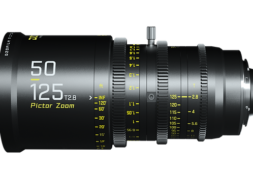 DZO Film Pictor 50-125mm T2.8 PL/EF S35mm Cine Zoom Lens