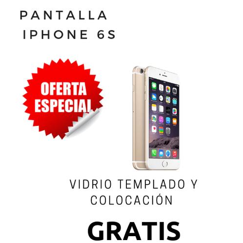 61fb27bf2b3 Cambio de pantalla Iphone 6s + vidrio templado
