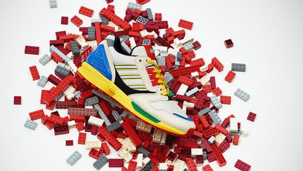 Lego anuncia su próxima colaboración: Adidas Originals ZX8000