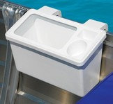 Bait & Storage Bin with cup holders