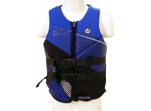 Boating and Outdoors Neoprene Vest Blue