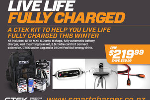 CTEK Live Life Fully Charged Kit