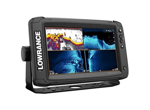 Elite-9 Ti +Active imaging3-in-1 Transducer- built in C-Map Charts