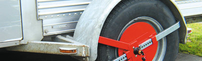 Trojan Defender Wheel Clamp