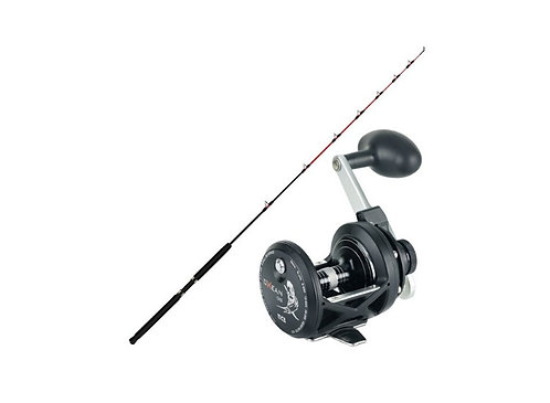 Kilwell Boat Combo Jellytip 661 with Tica Oxean OX5 Reel