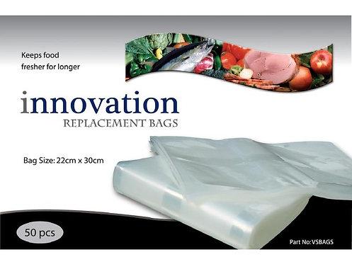 INNOVATION VAC & SEAL ROLLS & BAGS
