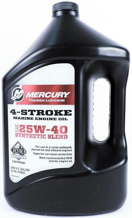 Mercury Four Stroke 25W-40 - 3.79L