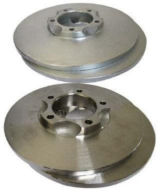 Trojan Stainless Steel Rotors