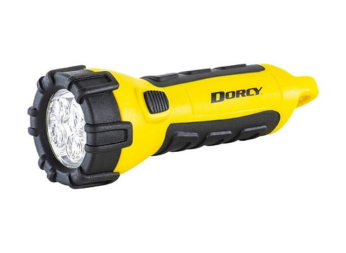 Dorcy Waterproof Floating LED Torch - Batteries Included