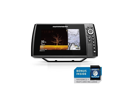 Humminbird HELIX 8 G4N chirp Mega SI, GPS including Chart