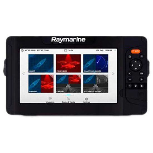 """Raymarine 12"""" Element-S with CPT-S Transom Mount Transducer"""