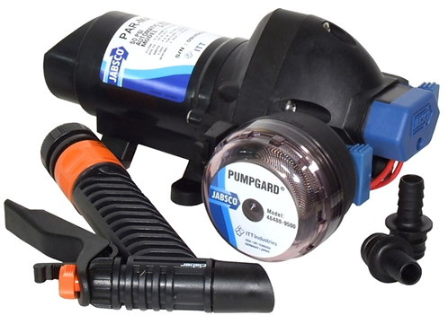 Jabsco Washdown Filter & Pump 11Ltr