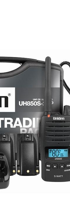 Uniden 5 Watt UHF Waterproof CB Handheld – Tradies Pack