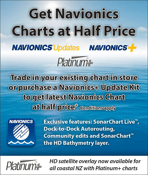 Navionics Charts Upgrade or Trade in!