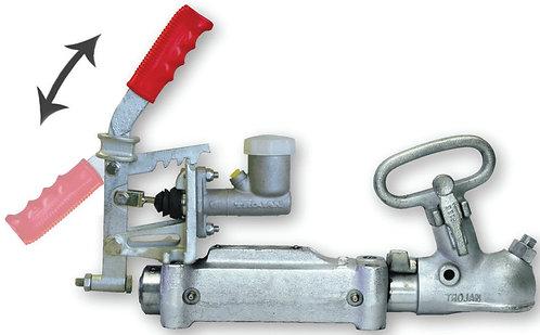 Trojan Duofit Override hydraulic coupling, Spring dampened - 2500kg