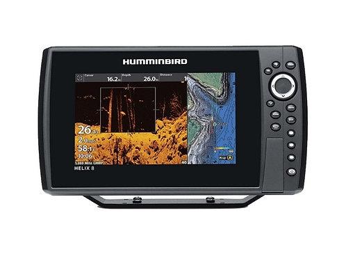 Humminbird Helix 8 Chrip Mega DI GPS Inc Navionics+ Chart