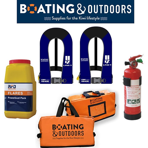 Boating and Outdoors Safety Pack Grab Bag