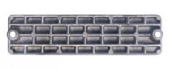 Mercury Type Waffle Plate Anode