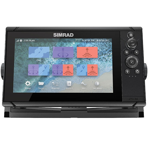 Simrad Cruise 9 with 83/200 Transducer and C-MAP Chart