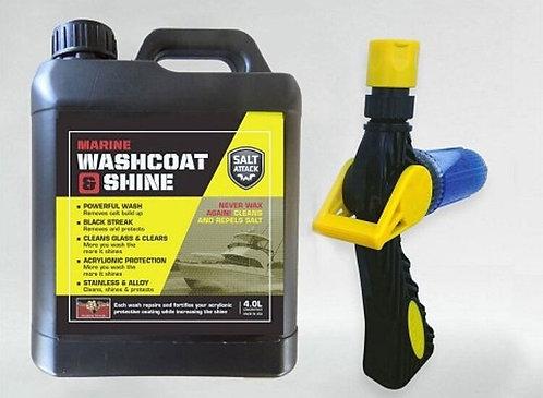 Salt-Attack Marine Washcoat & Shine 4 Ltr Kit