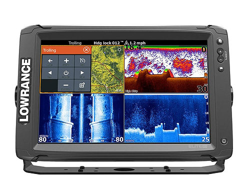 Lowrance Elite-12 Ti with TotalScan Transducer & C-Map Chart - VERY LIMITED