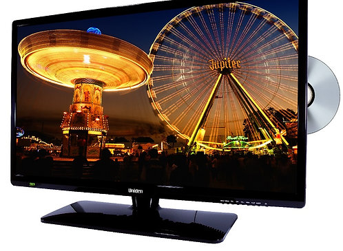 Uniden 28 Inch Widescreen LED Televison Digital TV Tuner/Built-In DVD