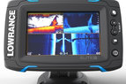 Lowrance Elite 5 Ti Downscan with Chart