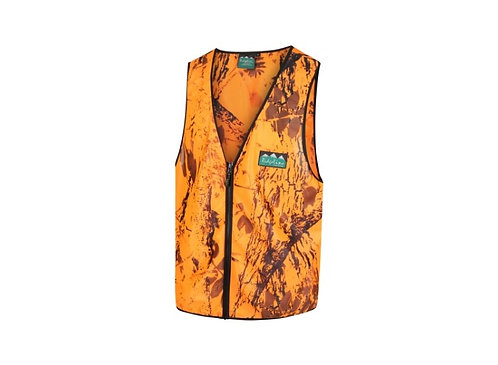 Ridgeline Blaze Camo Full Zip Safety Vest