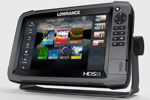 Lowrance HDS-9 Gen3 with Mid/High and StructureScan 3D Transducer