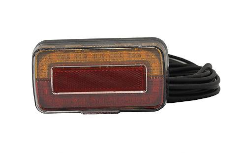 Narva Marine Model 37 LED 12/24V Lamp with License Plate light