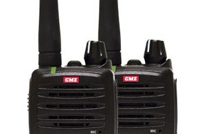 GME TX677TP 2 Watt UHF CB Handheld radio - Twin pack