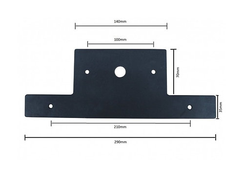 Wildcat Rubber Number Plate Holder to suit Model 37