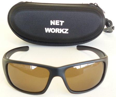 Networkz Polized Sunglasses with Hard Case