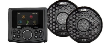 GME GR350BT Entertainment Pack with 5S Speakers (Black)