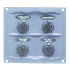 BEP Splashproof Switch Fuse Panels  900-4WP