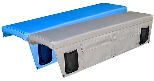Bench Cushions with Side Pockets 300mm -400mm Width