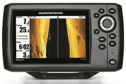 """Humminbird Helix 5"""" G1 SI GPS with Side Imaging"""